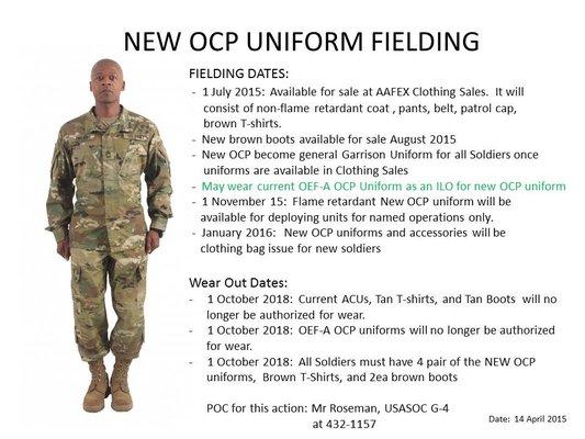 Army Regulation Uniform 84