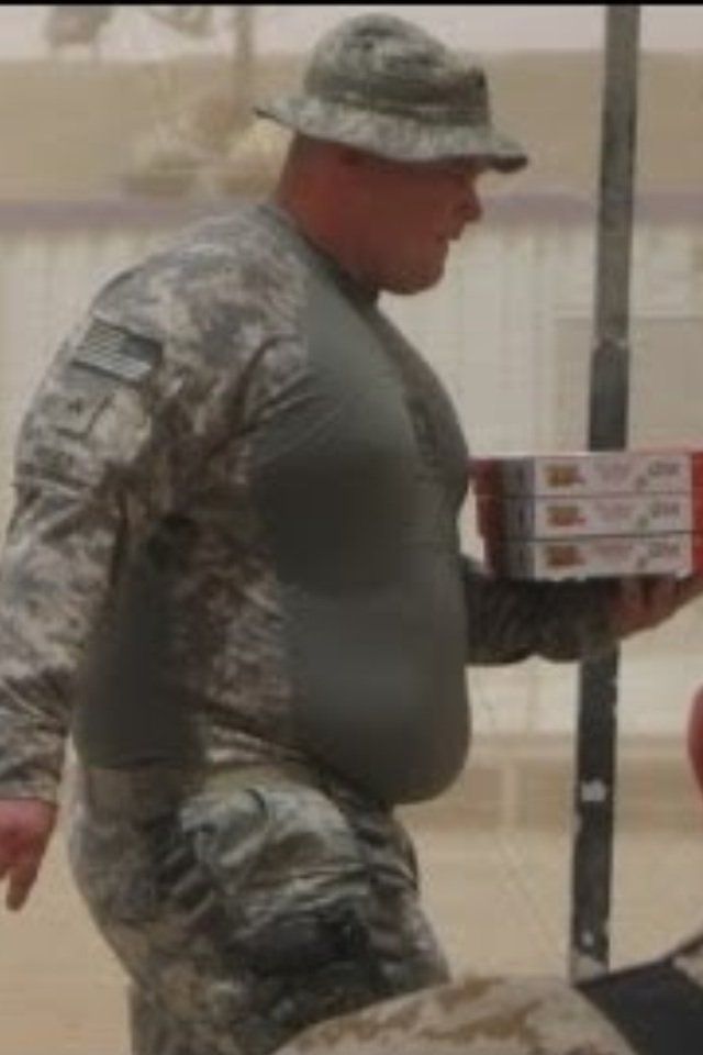 How Often Have You Seen Soldiers Eat Their Way Out Of The