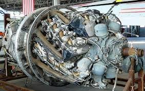 Pratt & Whitney R-4360 radial ...