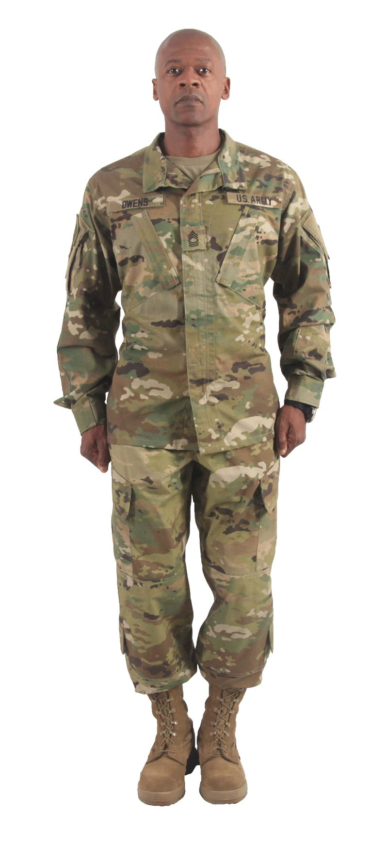 Wear Of Acu Uniform 109