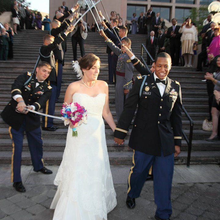 Swords at military weddings: Any sharp tips for their use