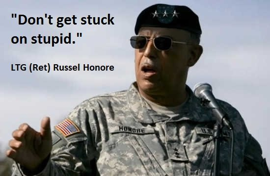 """LTG Russel Honore: """"You're Stuck On STUPID!"""""""