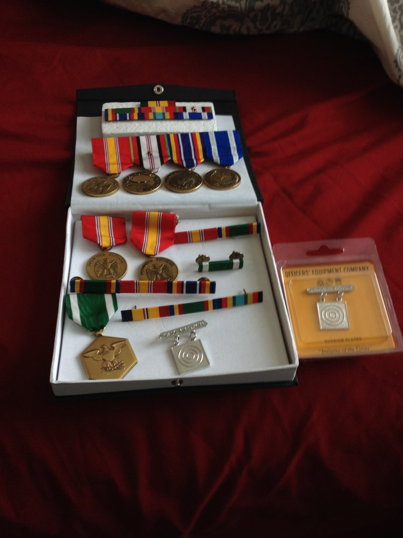 What do you do with your old medals and ribbons? | RallyPoint