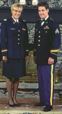 enlisted dating officer
