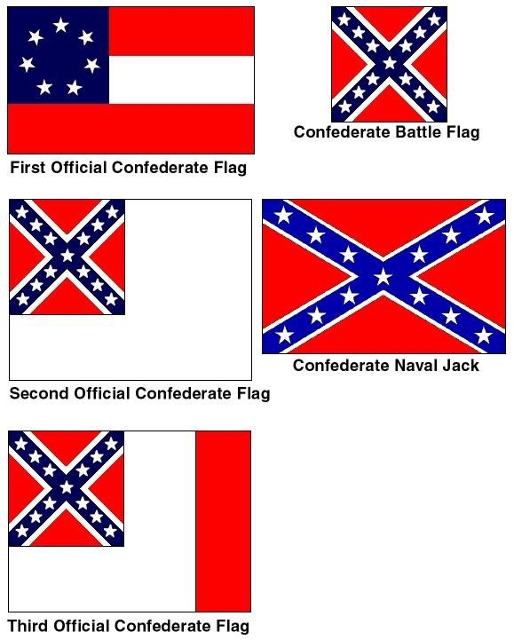A Little History Lesson The Confederate Flag Many Wish To Remove Was Merely Battle And Looked Nothing Like Rebel We See Flown