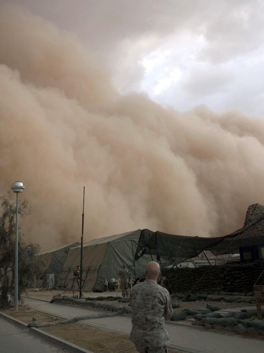 撒哈拉沙漠的沙暴  World Trave...欧美