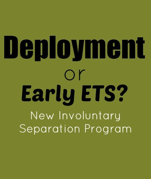 Ending your Term of Service during a upcoming deployment