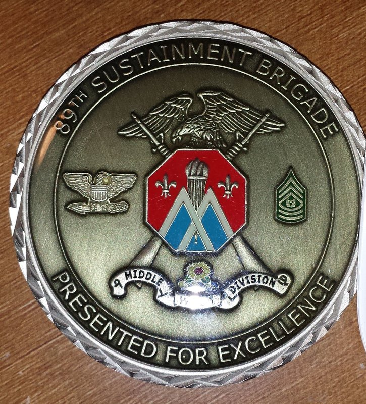Challenge Coins, how to give or receive? | RallyPoint