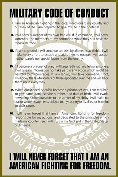 articles of the code of conduct