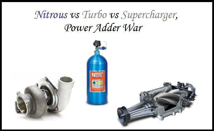 Turbocharged Vs Supercharged Vs Nitro What S Your Choice