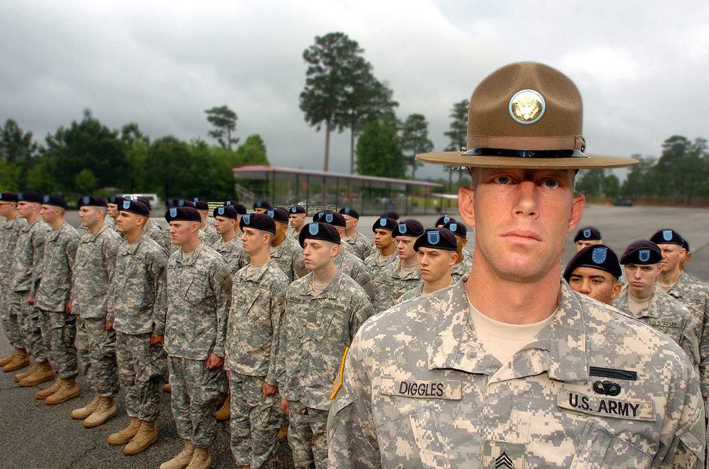 Guy drill sergeant