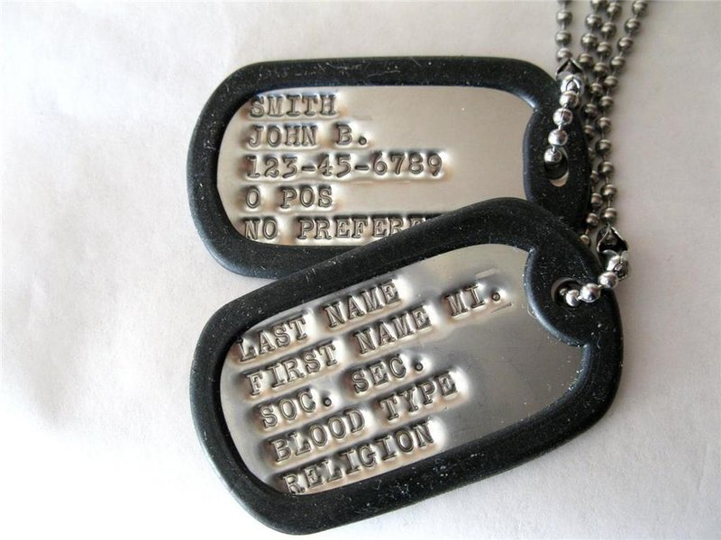 When Do I Get My Dog Tags In The Army