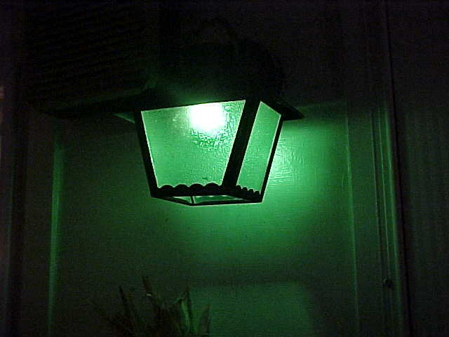 Are Green Porch Lights   U0026quot Greenlight A Vet U0026quot   Meaningful To