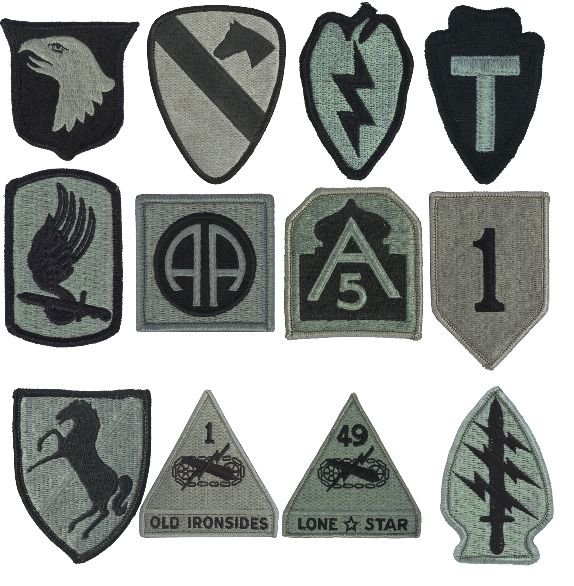Should The Army Do Away With Patches And Go To One Universal Symbol