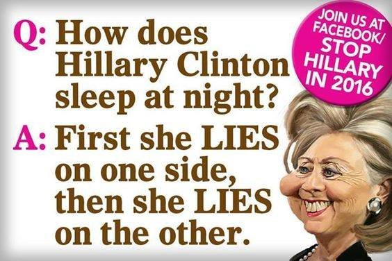 Do You Want Four Reasons To Never Vote For Hillary Clinton Rallypoint