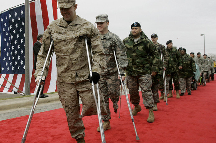 Do you think Wounded Warriors receive unfair special ...