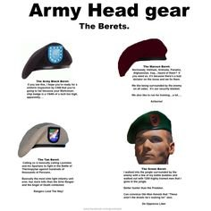 Do you think the Rangers will get back their black berets