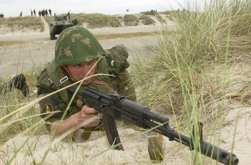 us marine infantryman