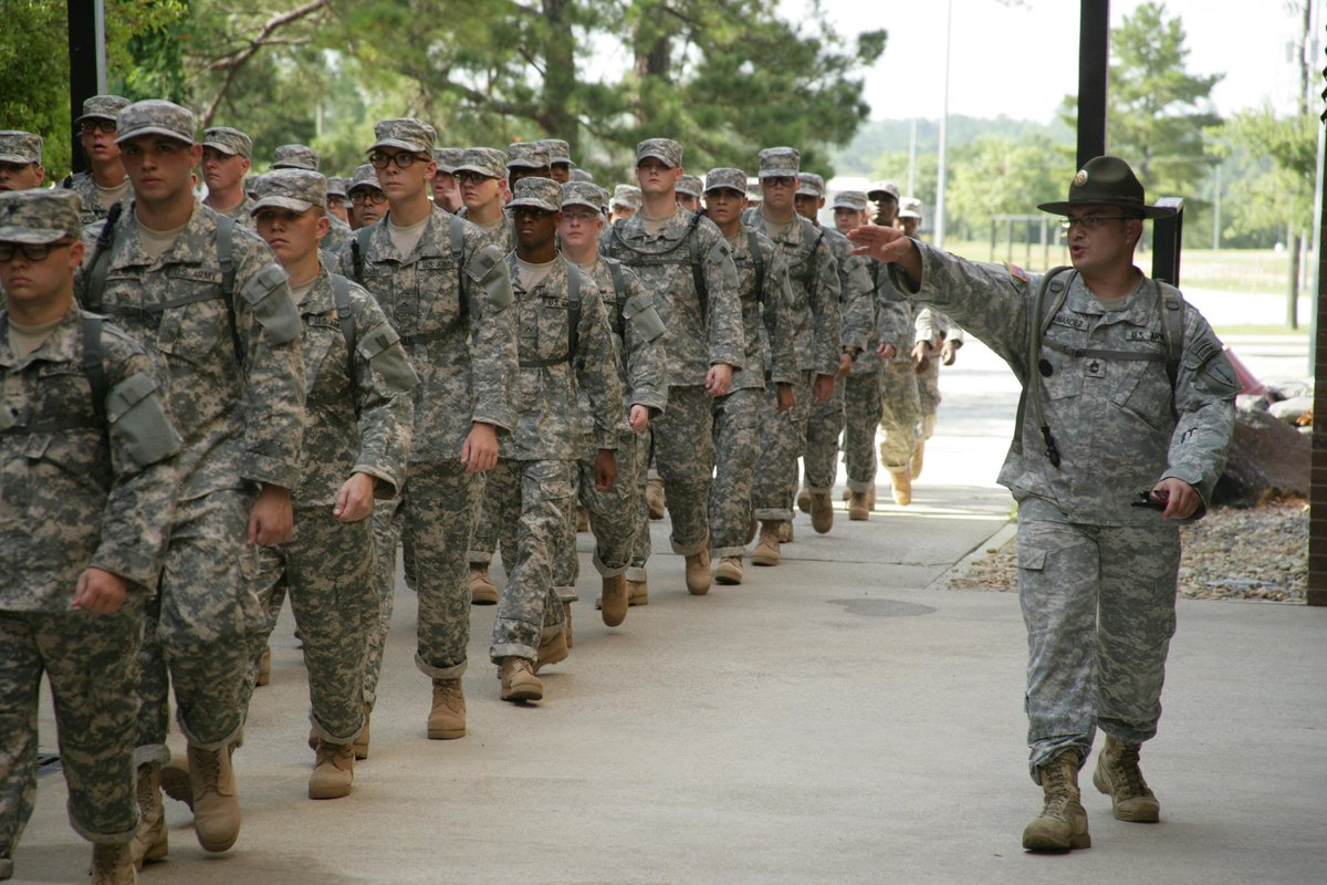 Photos benning basic training fort