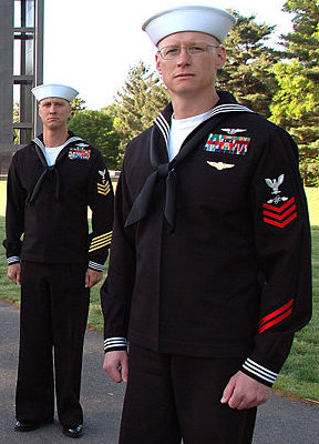 Uniforms wwii enlisted us navy World War