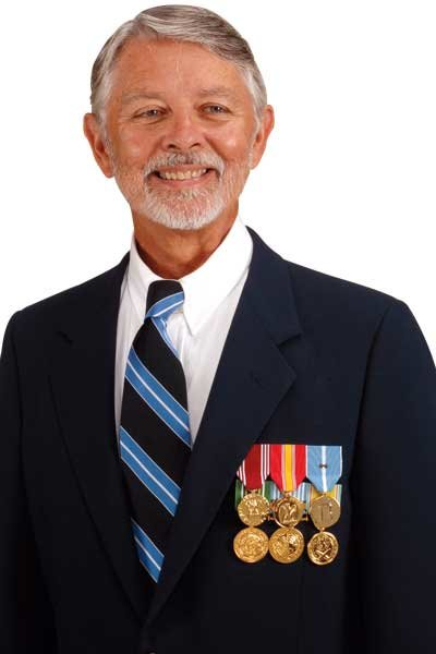 Can veterans wear earned medals on approved civilian attire
