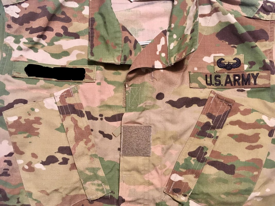 f79e3076c537 On my WOCS, is it going to be an issue if my rank is velcro but my ...