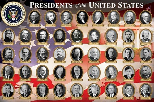 Who were the first 5 presidents of the United States ...
