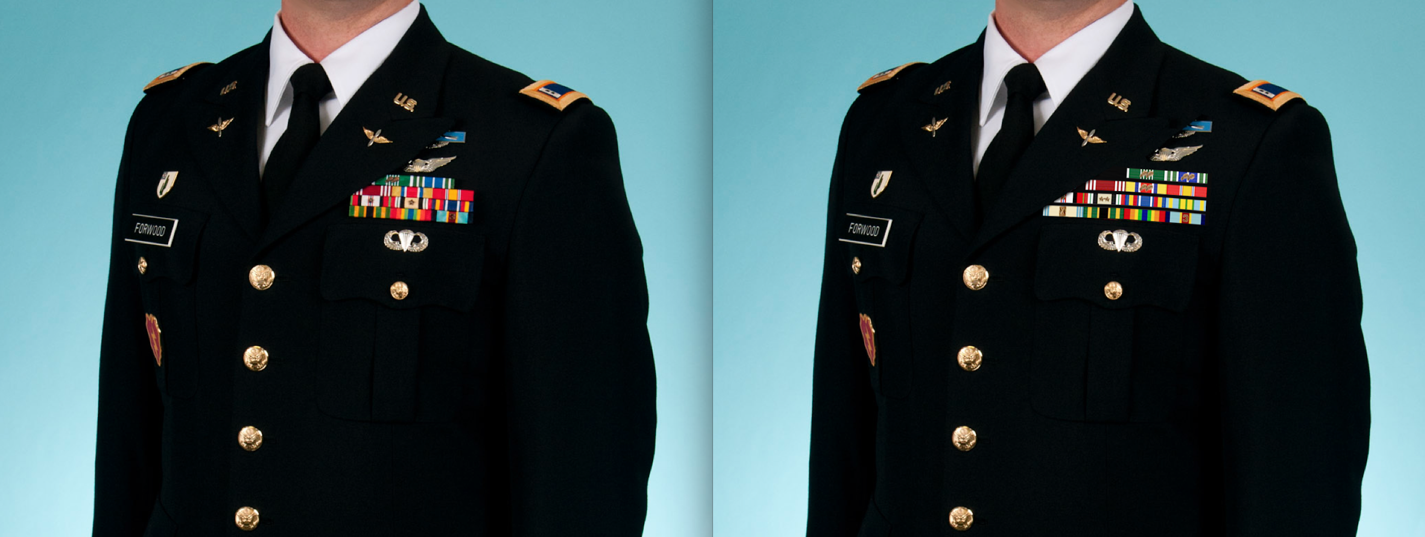 What is everyone's thought on wearing service ribbons in