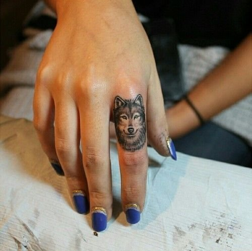 Would you consider a wolf ring tattoo to act as a wedding band (and ...