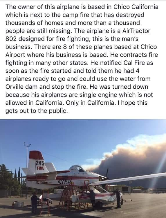 Actually The Aircraft Mentioned In This Story Are Owned By A Trust Company Utah But They Do Have Maintenance Hub Chico California