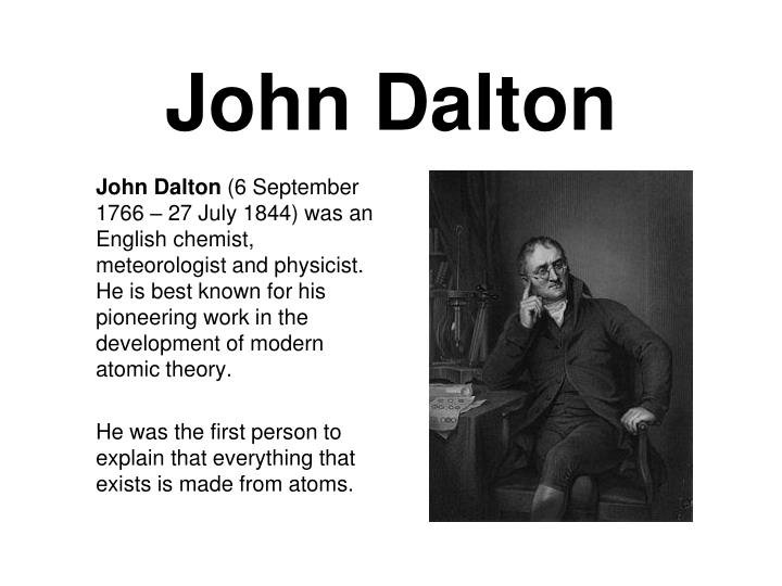 Image result for john dalton""